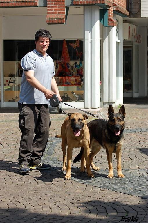 Jürgen mit Kway und Drago