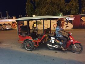 カンボジアでの最後の夜を過ごす