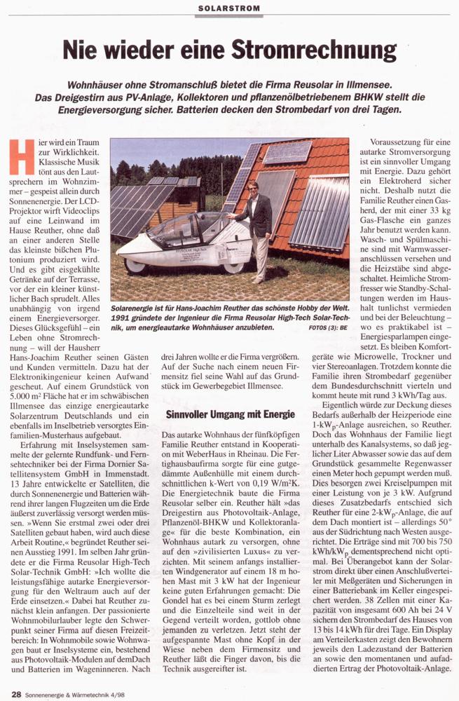 Sonnenenergie & Wärmetechnik