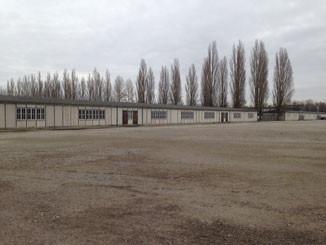 Camp de Dachau où Karl Leisner et Mgr Piguet furent internés.