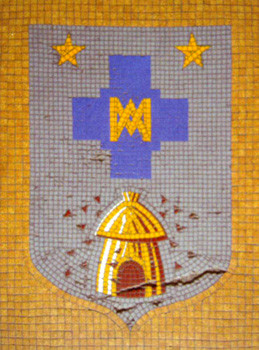 Blason de Massillon, mosaïque, 1935