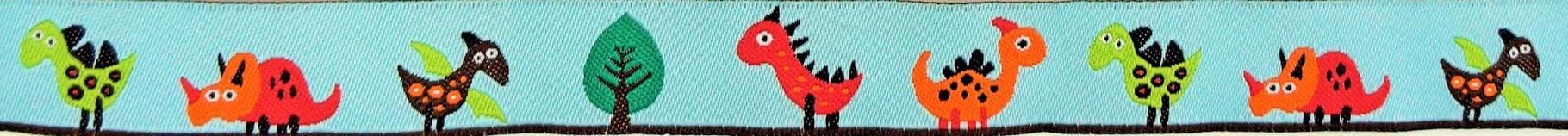 Dinosaurier hellblau