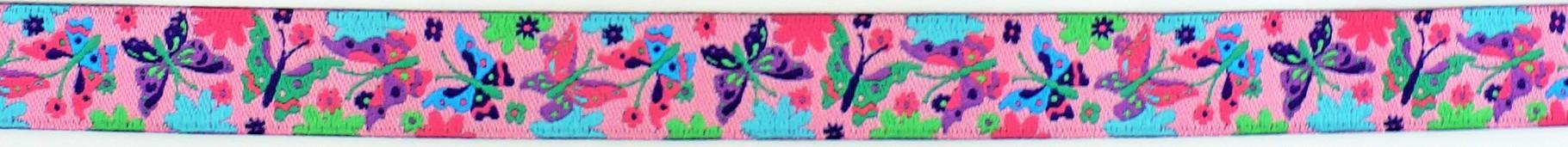 Schmetterling rosa - lila