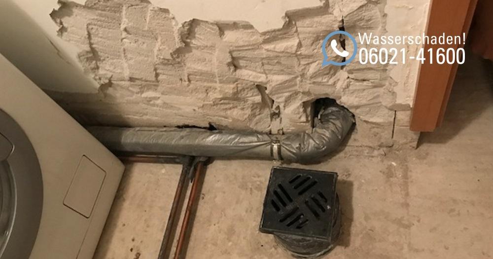 Wasserschadenhilfe: Wasserschaden inkl. Reparatur in Mainaschaff / Rohrbruch in Aschaffenburg
