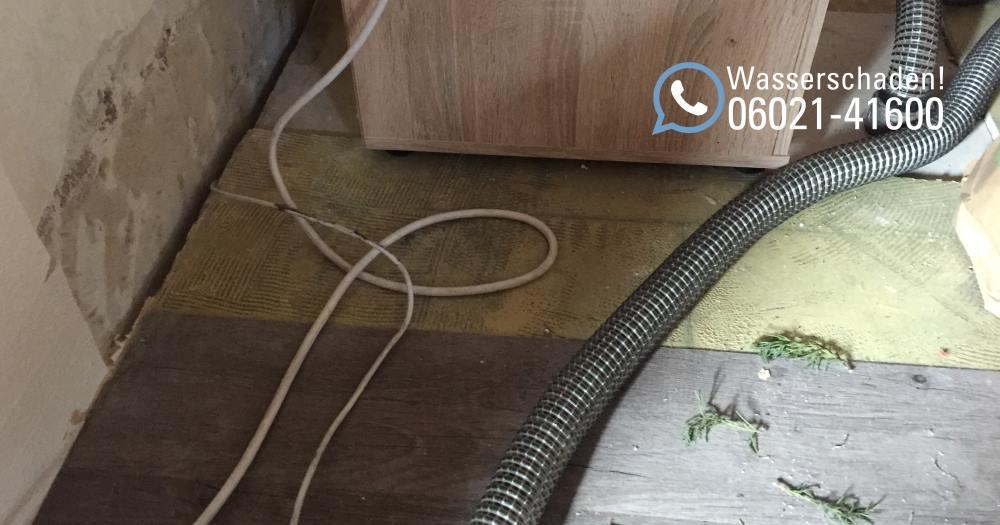 SAGA Wasserschaden Aschaffenburg / Wiederherstellung nach Wasserschaden / Soforthilfe bei Überschwemmung in Aschaffenburg