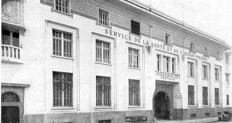 1932; la pharmacie central de ministere de la santé à casablanca (derb omar)