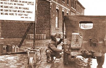"""""""Checkpoint"""" in Höngen, geöffnet von 08.00-17.00 Uhr"""