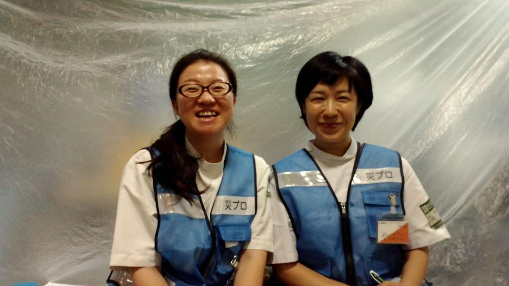 橘川・八幡両調整員が初顔合わせ ー構造改善センターにて