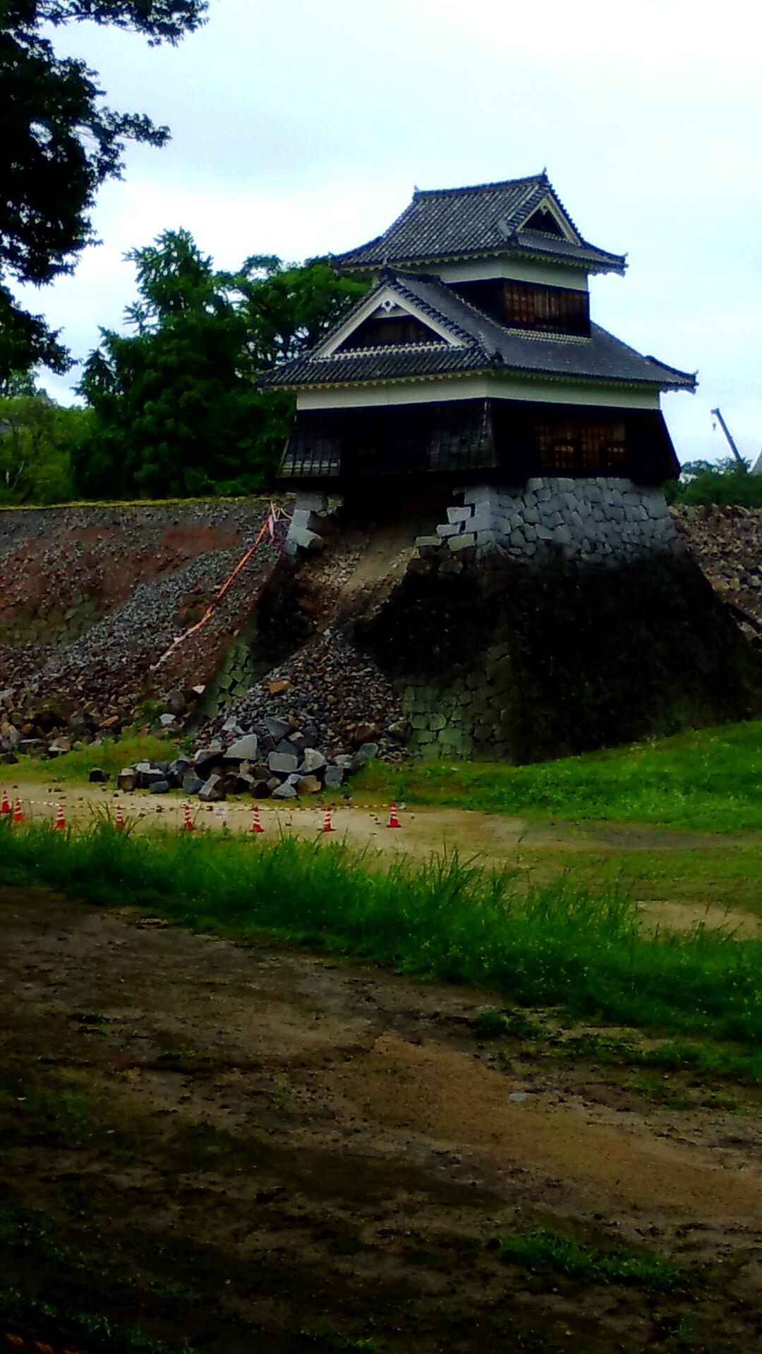 ー熊本城にて