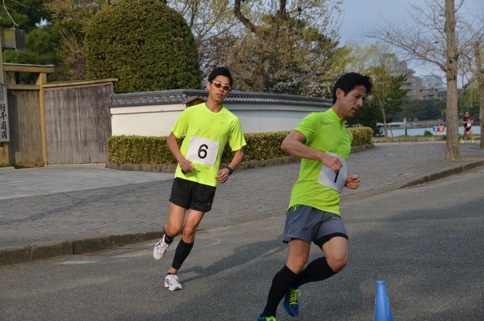 フルマラソン記録会2015