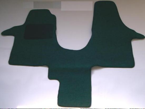 farbiger Autoteppich Fussmatte Fahrerhaus für Ford Transit 2-Sitzer Bj 2006-2013