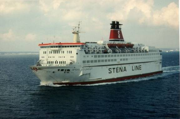 Stena Jutlandica in 80's