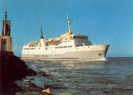 Christian IV (1968/1984) in Skagerak.