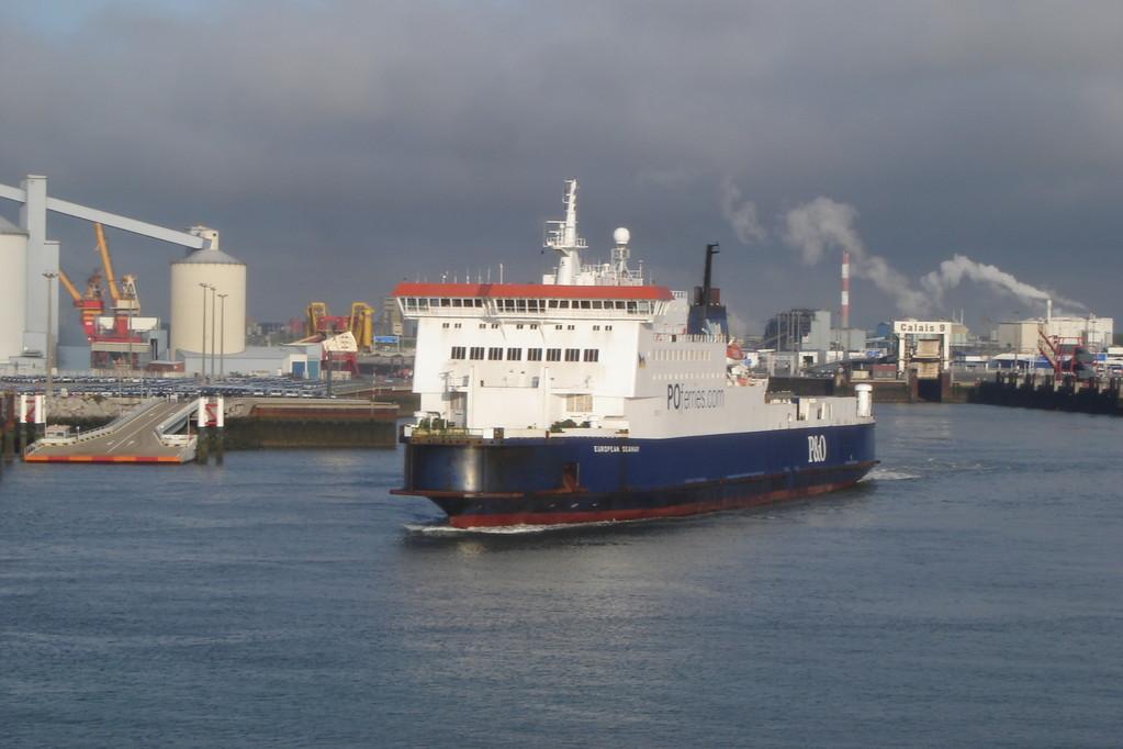 European Seaway (©lebateaublog2011)