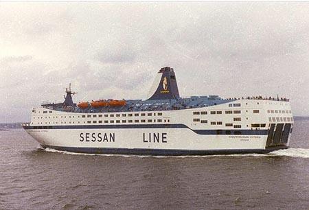 Kronprinsessan Victoria (1981-1982/Stena Sessan Linjen/Frederikshavn(DK)-Göteborg(S))