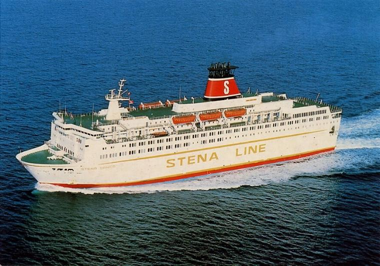 Stena Danica in 80/90's.