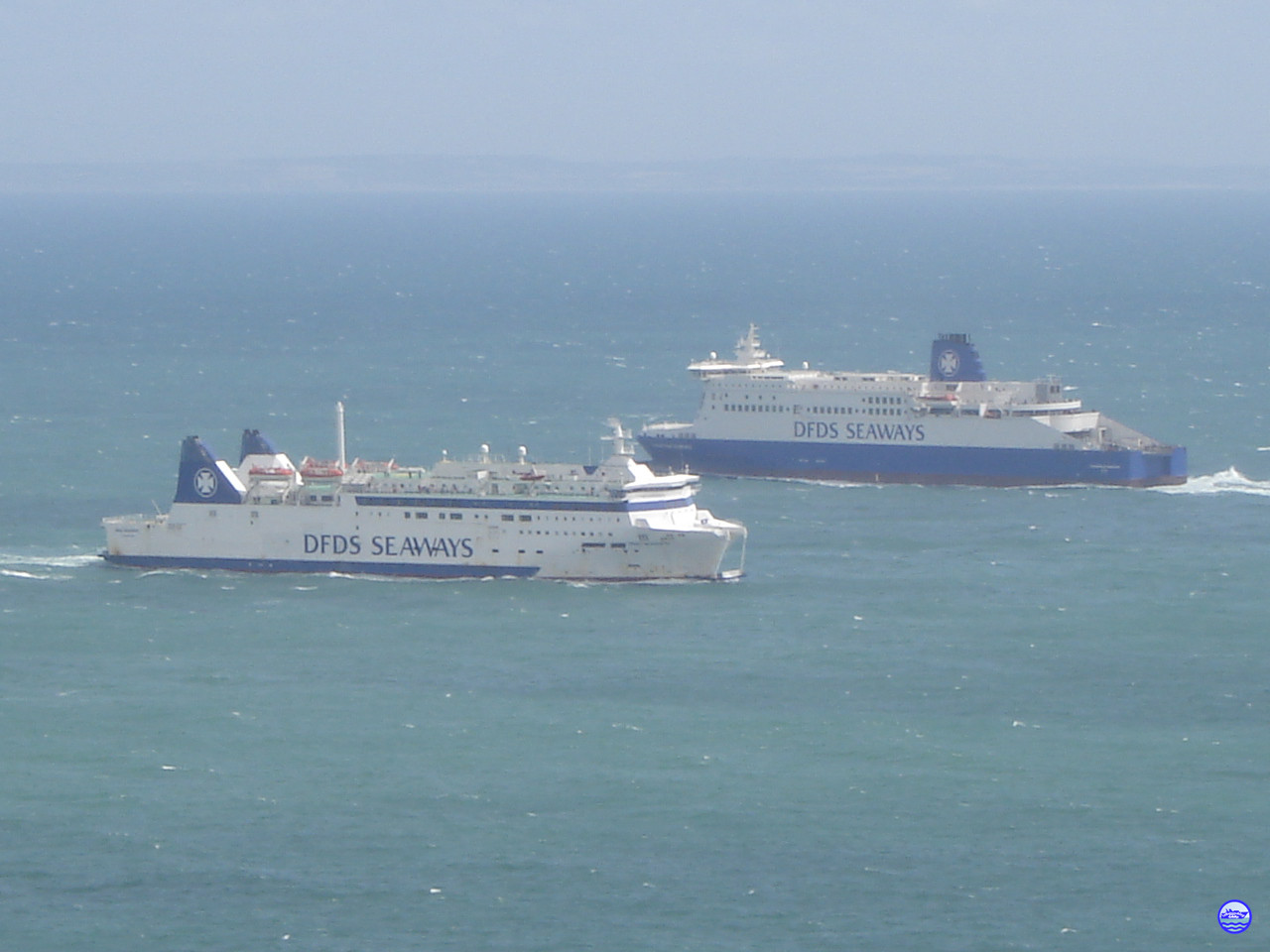 Deal Seaways vs Dunkerque Seaways (© lebateaublog 2012)