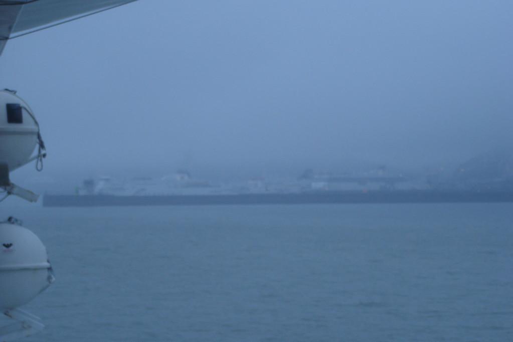 Douvres est en vue, oui oui... (© lebateaublog 2011)
