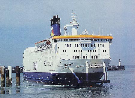 Pride of Provence (2003-2004/P&O Ferries/Calais(F)-Douvres(UK))