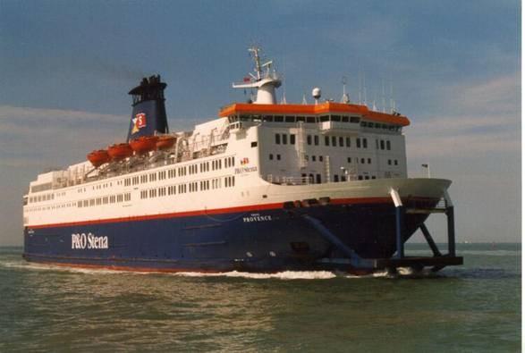 POSL Provence (1998-2002/P&O-Stena/Calais(F)-Douvres(UK))