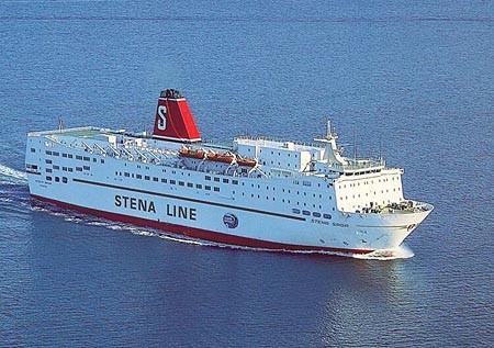 Stena Saga in 90's.