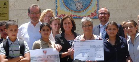 Spendenprojekt für eine Gehörlosenschule in Jerusalem
