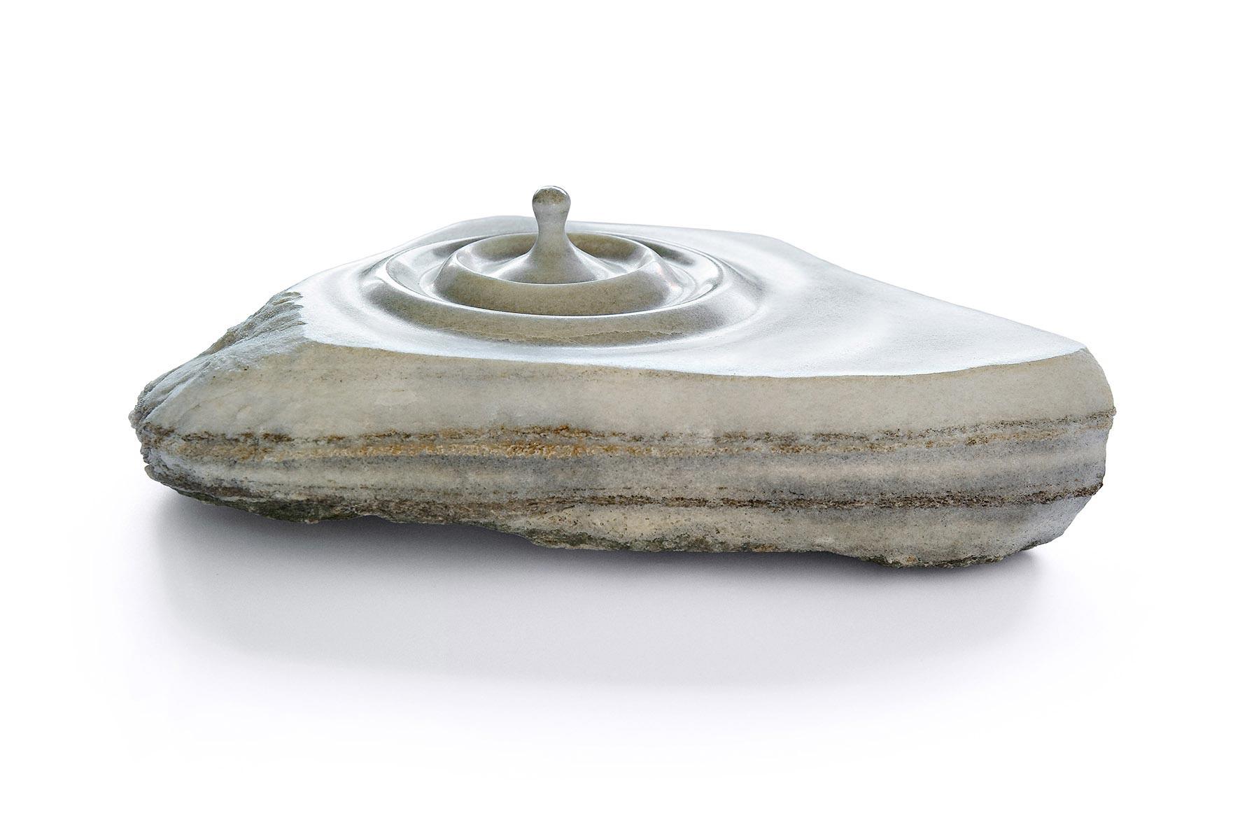 Aqua IV, Gneiss/Cristallina Marmor, 42/33/12 cm