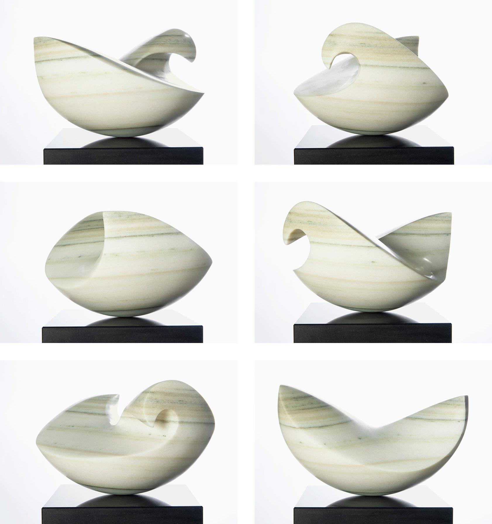 wave, Praly Marmor, 23/40/36 cm