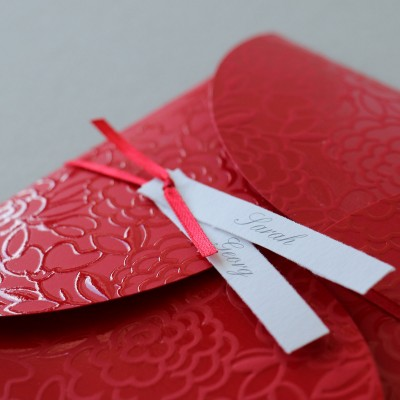 Herzklopfen rot Ornamente