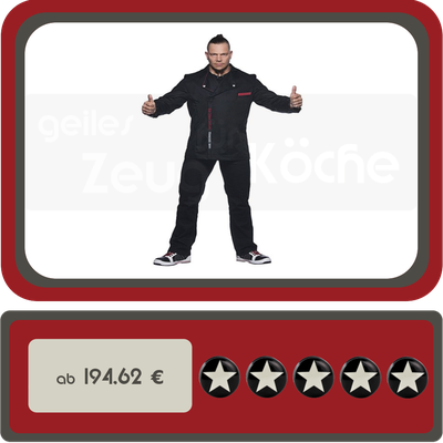 Kochjacke rock chef Angebot