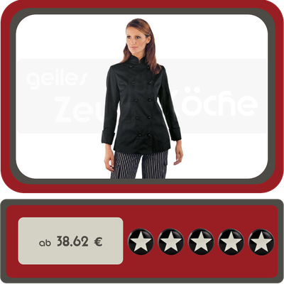 Damen Kochjacke Louisiana