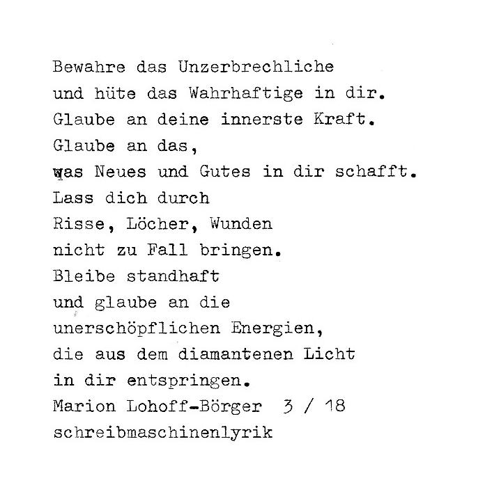 Gedichte Und Bilder.Gedichte Gedichte Gedichte Schreibmaschinenlyrik