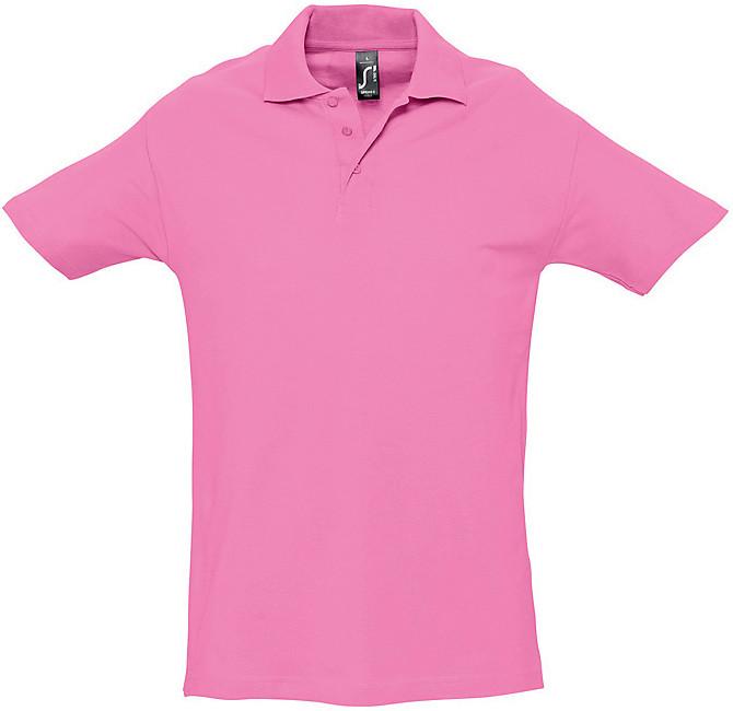 Polo femme coton piqué 180 grs/m2 pink