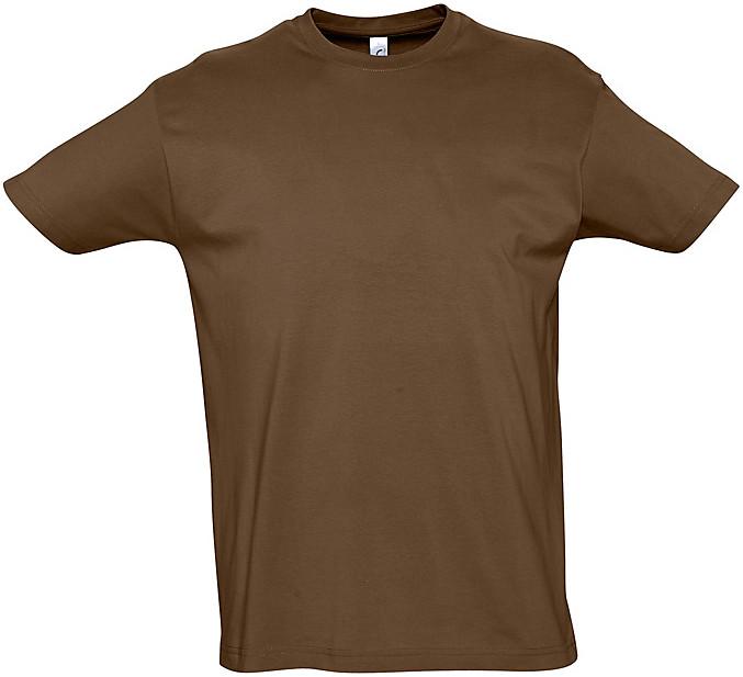 Tee-shirt 155 grs/m2 chocolat