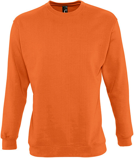 Sweat shirt molleton 280 grs/m2 coton/polyester orange