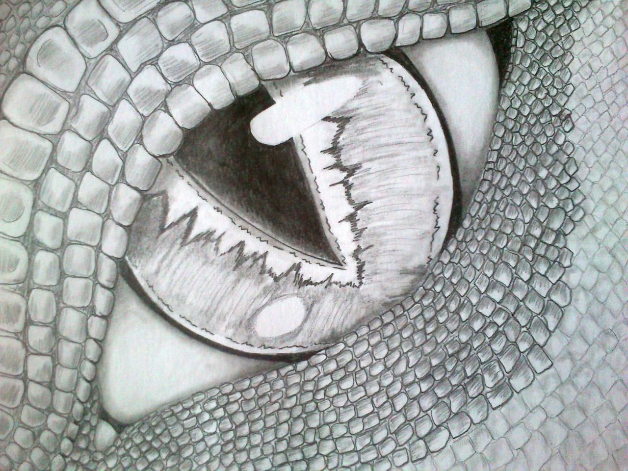 Das Auge eines Drachen
