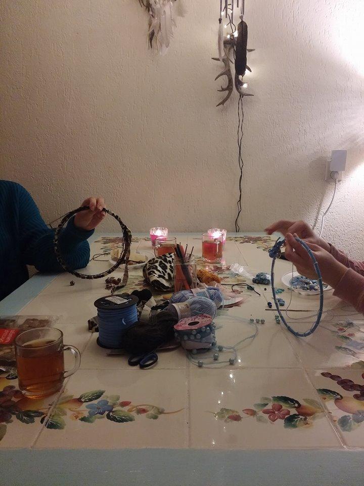 Creatieve workshops bij Zonnekind Dromenvangers