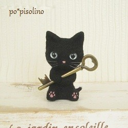 黒猫(6cm)