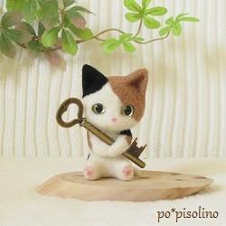三毛猫(6cm)