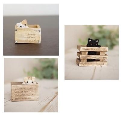 ウッドボックス小 BOX=横幅3.5㎝