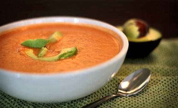 Ricetta gazpacho di zucca e zenzero