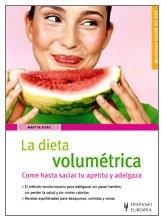 dieta volumetrica menu settimanale