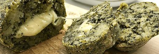Polpettone di pane e spinaci: ricetta facile