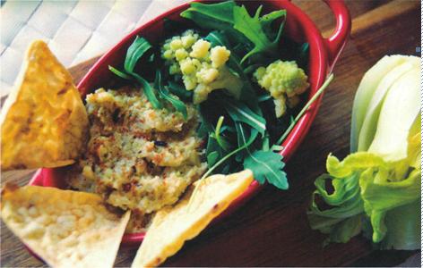 ricetta vegana: hummus di cavolfiore
