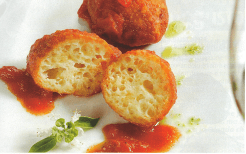 ricetta abruzzese: pallotte cacio e ove