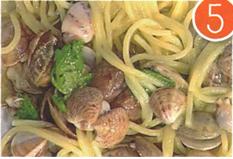 preparazione spaghetti vongole passo 5