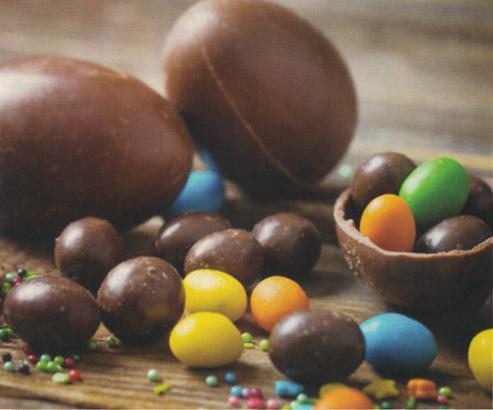 ricetta ovetti di cioccolato fai da te