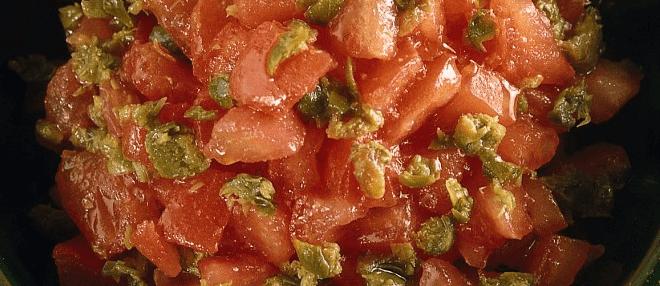 Ricetta della salsa al pomodoro crudo.