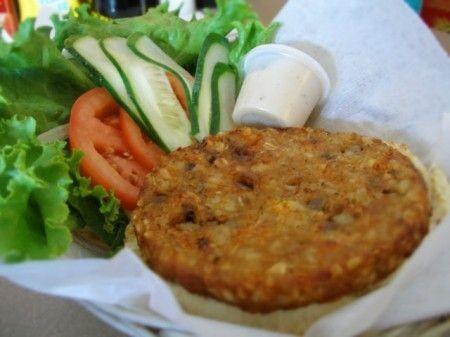 Hamburger vegetariano ricetta con lenticchie