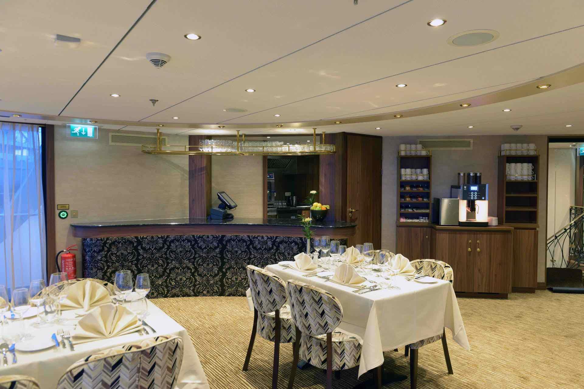 MS Jane Austen Lido Restaurant